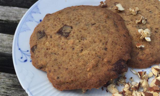 American nøddecrunch cookies