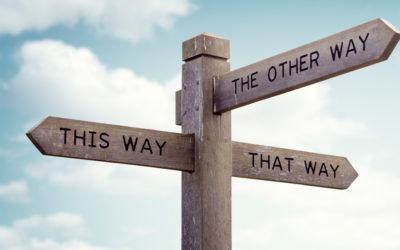 Synes du også det er svært at finde den rigtige vej?