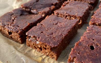 Brownies som smager af brownies (low carb)
