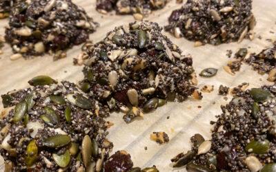 Kernestykker med chokolade (low carb)