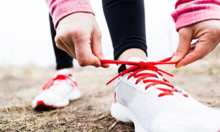 Vægttab og løbesko